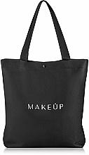 Perfumería y cosmética Bolso shopper, negro (38x39,5x8,7cm) - MakeUp