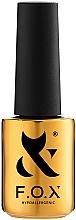 Perfumería y cosmética Base gel de uñas hipoalergénico, UV/LED - F.O.X Tonal Cover Base