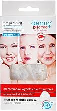 Perfumería y cosmética Mascarilla facial de tejido con hidrocolágeno y baba de caracol - Dermo Pharma Mesotherapy & Wrinkles Filling Effect