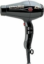 Perfumería y cosmética Secador de pelo - Parlux Hair Dryer 3800 Ionic & Ceramic Black