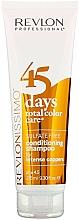 Perfumería y cosmética Champú acondicionador 2en1 para cabello cobrizo teñido - Revlon Professional Revlonissimo 45 Days Intense Coppers 2in1