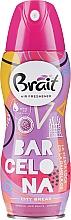 Perfumería y cosmética Spray ambientador con naranja y vainilla - Brait Dry Air