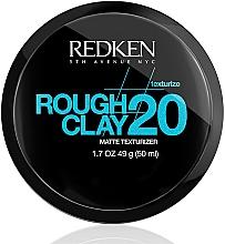 Perfumería y cosmética Arcilla mate moldeadora para cabello - Redken Rough Clay Matte Texturizer 20