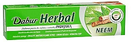 Perfumería y cosmética Pasta dental natural con aceite de neem - Dabur Herb`l Neem
