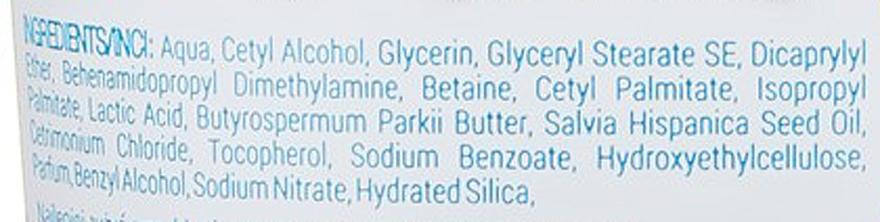 Acondicionador con aceite de chia - Delia Cameleo Natural On Your Hair Aqua Action — imagen N3
