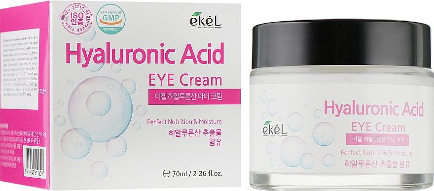 Crema contorno de ojos hidratante con ácido hialurónico - Ekel Hyaluronic Acid Eye Cream