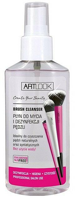 Spray limpiador de brochas de maquillaje antibacteriano - Art Look Brush Cleaner