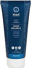 Perfumería y cosmética Champú purificante con aceite de neem - Khadi Shampoo Neem Balance