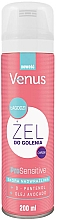 Perfumería y cosmética Gel de afeitar con aceite de aguacate - Venus Pro Sensitive