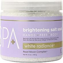 Perfumería y cosmética Sales de baño con extracto de ginseng y aceite de argán - BCL Spa White Radiance Brightening Salt Soak