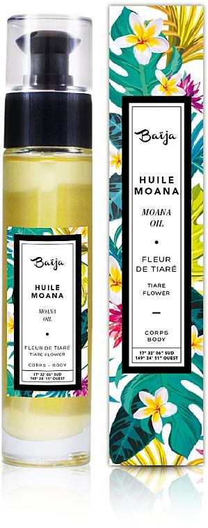 Aceite corporal con aroma floral - Baija Moana Rich Body & Bath Oil