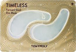Perfumería y cosmética Parches de hidrogel para ojos con baba de caracol - Tony Moly Timeless Ferment Snail Eye Mask