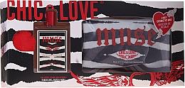 Perfumería y cosmética Chic&Love Muse - Set (eau de toilette/100ml + neceser)
