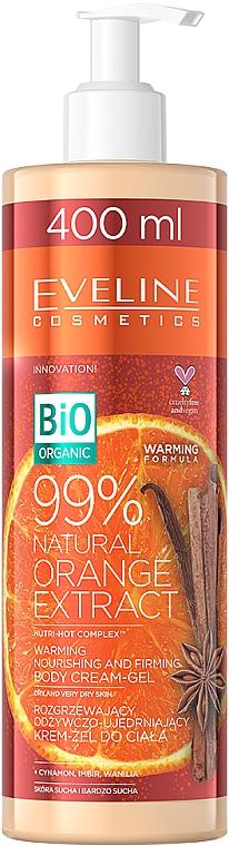Crema gel corporal con extracto natural de naranja - Eveline Cosmetics Bio Organic 99% Natural Orange Extract