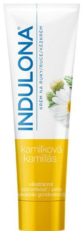 Crema de manos con camomila - Indulona Chamomile Hand Cream — imagen N1