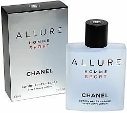 Chanel Allure homme Sport - Loción aftershave — imagen N2