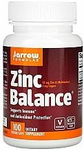 Perfumería y cosmética Complemento alimenticio en cápsulas de zinc, 100 cáp. - Jarrow Formulas Zinc Balance