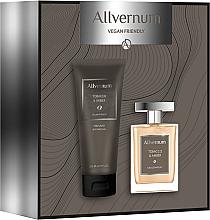 Perfumería y cosmética Allvernum Tobacco & Amber - Set (eau de parfum/100ml + gel de ducha perfumado/200ml)