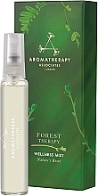 Perfumería y cosmética Bruma relajante para hogar y cuerpo con aceite de enebro y pimienta rosa - Aromatherapy Associates Forest Therapy Wellness Mist