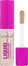 Perfumería y cosmética Corrector de maquillaje líquido - Lovely Liquid Camouflage
