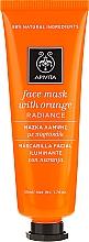 Perfumería y cosmética Mascarilla facial iluminante con aceite y extracto de naranja - Apivita Radiance Face Mask with Orange