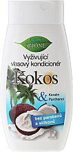 Perfumería y cosmética Acondicionador con aceite de coco y pantenol - Bione Cosmetics Coconut Nourishing Conditioner