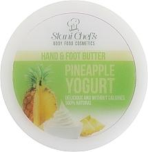 Perfumería y cosmética Manteca para manos y pies con extractos de piña y camomila - Stani Chef's Pineapple Yogurt Hand & Foot Butter