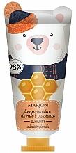 Perfumería y cosmética Crema-mascarilla de manos y uñas nutritiva - Marion Funny Animals Hand Cream Mask