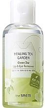 Perfumería y cosmética Desmaquillante de ojos y labios con extracto de té verde - The Saem Healing Tea Garden Green Tea Lip & Eye Remover
