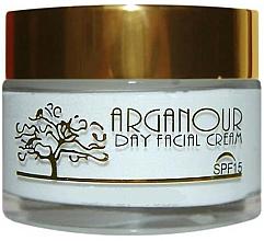 Perfumería y cosmética Crema de día antiedad con aceite de argán, ácido hialurónico y colágeno - Arganour Anti Age Facial Cream Spf15