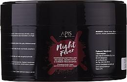 Perfumería y cosmética Exfoliante para manos, cuerpo y pies con aceite de cáñamo y extracto de germen de trigo - Apis Professional Night Fever