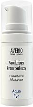 Perfumería y cosmética Crema contorno de ojos con extracto de ruibarbo - Avebio Aqua Eye Cream