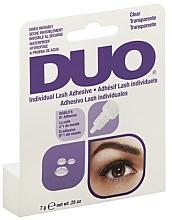 Perfumería y cosmética Pegamento para pestañas postizas resistente al agua, transparente - Duo Individual Lash Adhesive