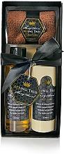 Perfumería y cosmética Set - Beeing True (gel de ducha/125ml + loción corporal/125ml + toalla)