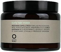 Perfumería y cosmética Mascarilla para cabello rizado con regaliz biodinámico (en tarro de cristal) - Rolland Oway BeCurly Mask