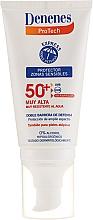Perfumería y cosmética Protector solar para pieles sensibles y atópicas - Denenes Sun Protective Cream SPF50+