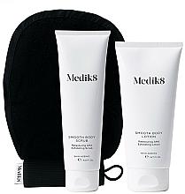 Perfumería y cosmética Medik8 Smooth Body Exfoliating Kit - Set exfoliante corporal (exfoliante/150ml+loción/200ml+guante exfoliante)