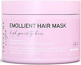 Perfumería y cosmética Mascarilla emoliente para cabello de porocidad alta con aceites de babasú y cáñamo - Trust My Sister High Porosity Hair Emollient Mask