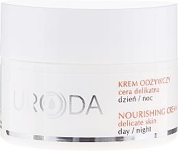 Perfumería y cosmética Crema facial con vitaminas A y E - Uroda Nourishing Face Cream For Sensitive Skin