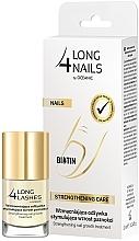 Perfumería y cosmética Sérum de uñas intensivo fortificante con aceite de almendras dulces - Long4Lashes Intensive Strenghtening Nail Serum