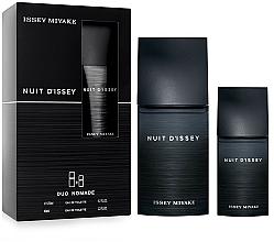 Perfumería y cosmética Issey Miyake Nuit d'Issey - Set (eau de toilette/125ml + eau de toilette/40ml)