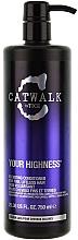 Perfumería y cosmética Acondicionador volumizante con lavanda y jazmín - Tigi Catwalk Volume Collection Your Highness Nourishing Conditioner