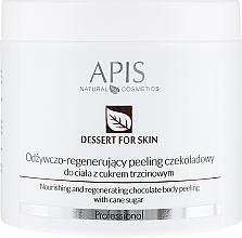 Perfumería y cosmética Exfoliante corporal con chocolate & caña de azúcar - APIS Professional Dessert For Skin Nourishing And Regenerating Chocolate Body Peeling