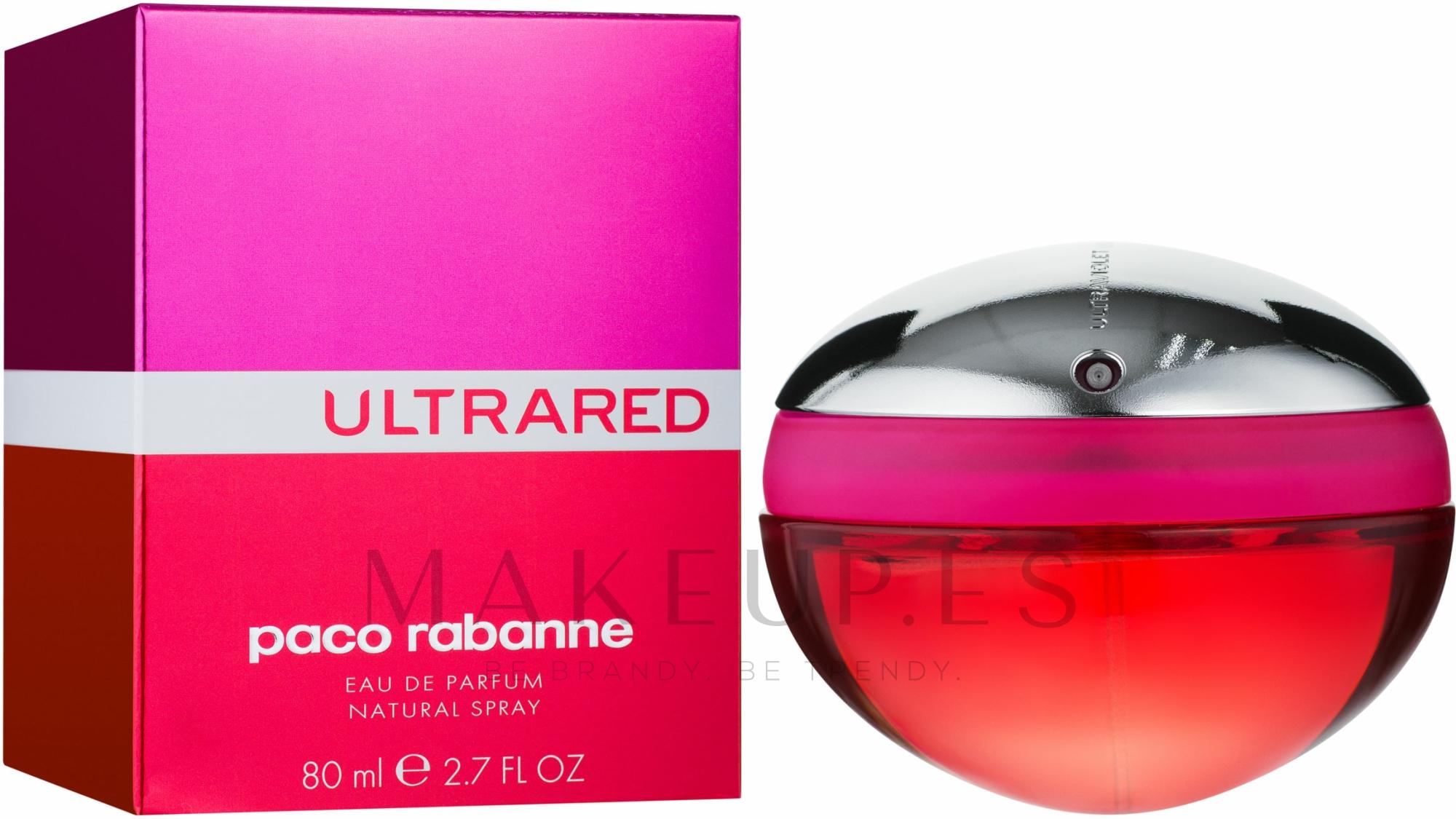 Paco Rabanne Ultrared - Eau de parfum — imagen 80 ml