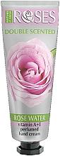 Perfumería y cosmética Crema de manos perfumada con agua de rosas, vitamina A y E - Nature of Agiva Roses Rose Perfumed Hand Cream