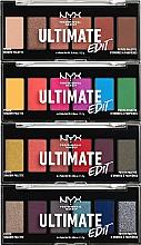 Perfumería y cosmética Paleta de sombras de ojos, 6 colores - NYX Professional Makeup Ultimate Edit Petite Shadow Palette