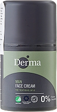 Crema facial nutritiva con aloe vera, manteca de karité y vitamina E - Derma Man Face Cream — imagen N1