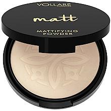 Perfumería y cosmética Polvo facial compacto con efecto mate - Vollare Mattifying Face Powder