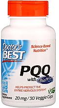 Perfumería y cosmética Complemento alimenticio en cápsulas de PQQ con BioPQQ, 20 mg - Doctor's Best