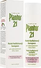 Perfumería y cosmética Champú anticaída de cabello nutritivo con cafeína y biotina - Plantur Nutri Coffein Shampoo